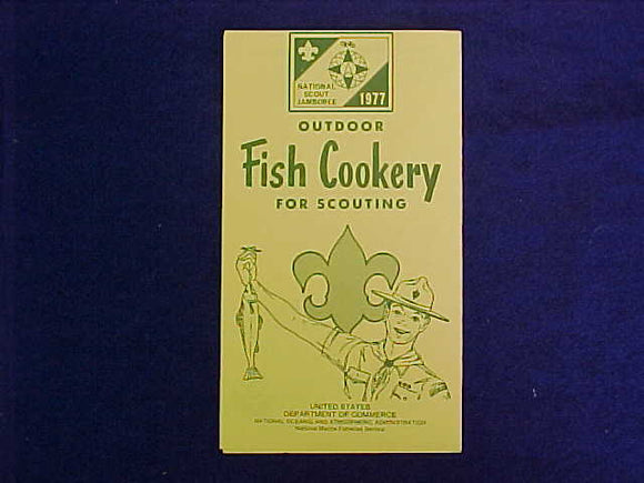 1977 NJ BROCHURE, OUTDOOR FISH COOKERY