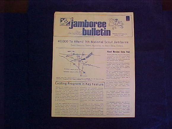 1977 NJ BULLETIN, GREAT TRAIL COUNCIL JAMBOREE