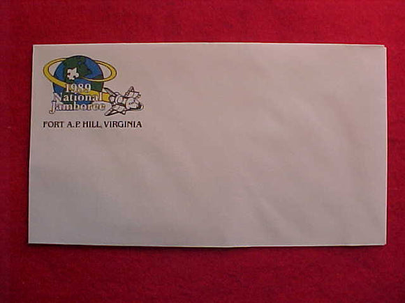 1989 NJ LETTERHEAD ENVELOPE, 3.75 X 6.5