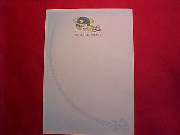 1989 NJ LETTERHEAD STATIONARY PAGE, 6 X 8.5