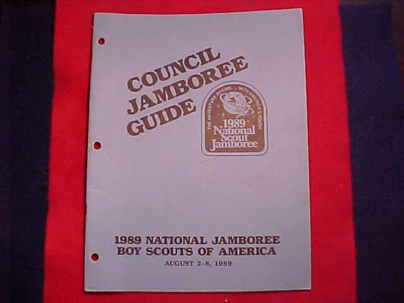 1989 NJ COUNCIL JAMBOREE GUIDE