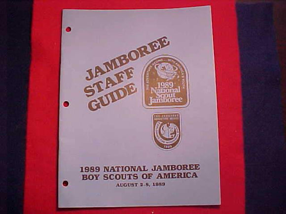 1989 NJ JAMBOREE STAFF GUIDE