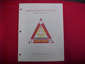1997 NJ BOOKLET, JAMBOREE LEADER FITNESS AWARD PRESENTATION