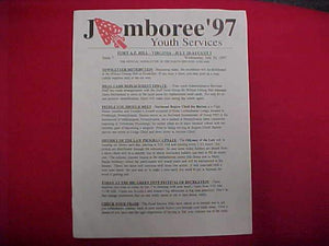 1997 NJ NEWSLETTER, YOUTH SERVICES, ISSUE #7, JULY 30, 1997