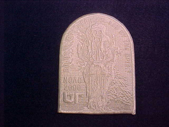 2000 NOAC PATCH, WHITE GHOST