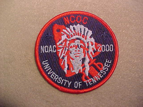 2000 NOAC PATCH, CONFERENCE OF CHIEFS, RED BORDER