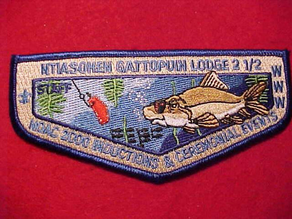 2000 NOAC FLAP, INDUCTIONS & CEREMONIAL EVENTS STAFF, NO BUTTON LOOP