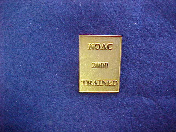 2000 NOAC PARTICIPATION PIN, ISSUED 1 PER SCOUT