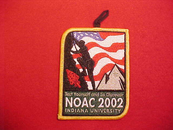 2002 NOAC PATCH WITH BUTTON LOOP