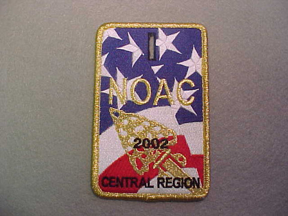 2002 NOAC PATCH, CENTRAL REGION