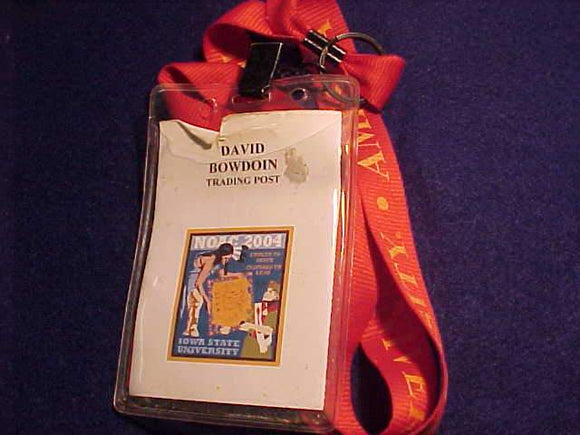 2004 NOAC ID, TRADING POST STAFF, IOWA STATE UNIV., USED