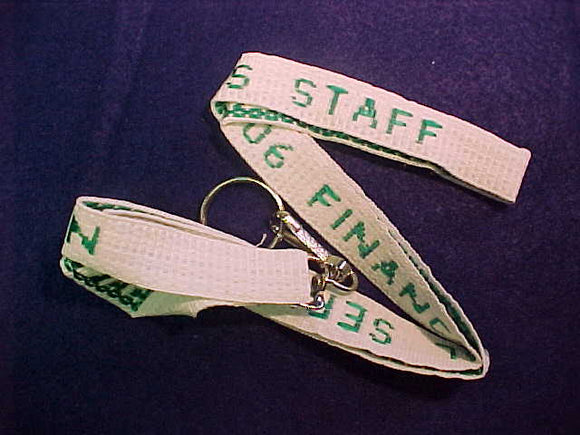 2006 NOAC LANYARD, FINANCIAL SERVICES, WHITE