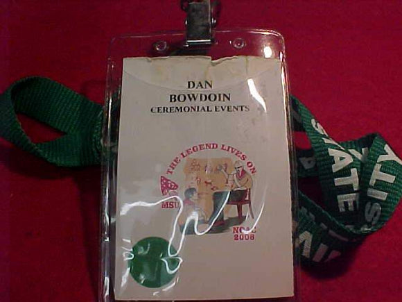 2006 NOAC ID, CEREMONIAL EVENTS, USED