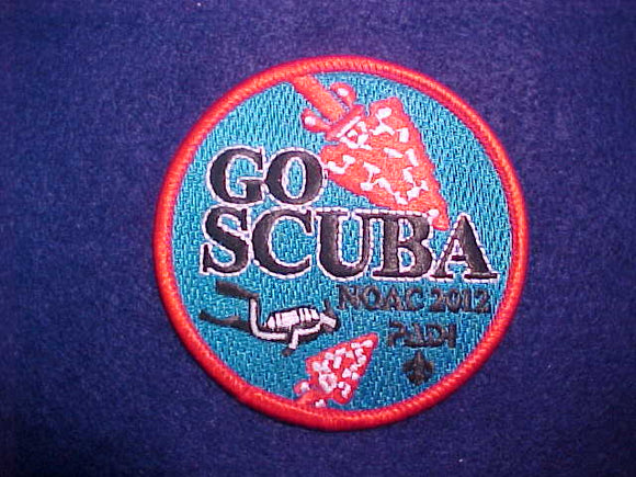 2012 NOAC PATCH, SCUBA STAFF