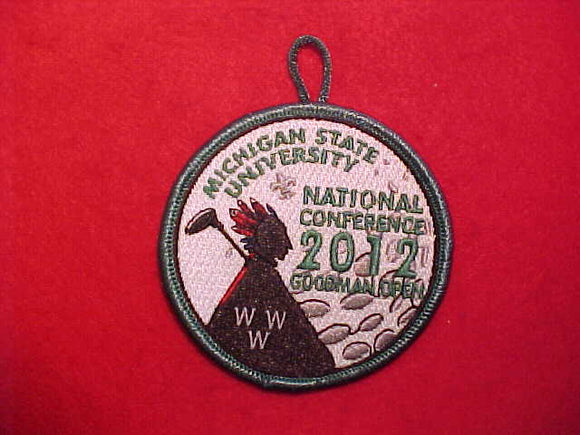 2012 NOAC PATCH, GOODMAN OPEN GOLF