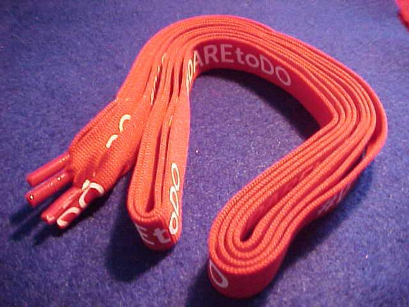 2015 NOAC SHOELACES (PAIR), #DARE TO DO