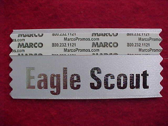 2015 NOAC NAME BADGE RIBBON, EAGLE SCOUT, WHITE