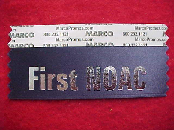 2015 NOAC NAME BADGE RIBBON, FIRST NOAC, NAVY