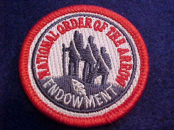2018 NOAC PATCH, OA ENDOWMENT, 2