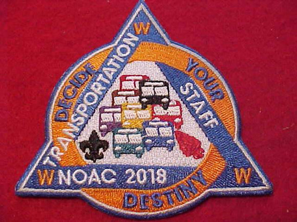 2018 NOAC PATCH, TRANSPORTATION STAFF
