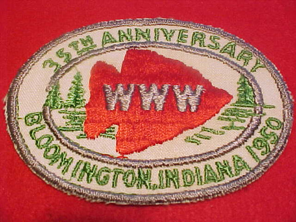 1950 NOAC PATCH, OFFICIAL, MINT