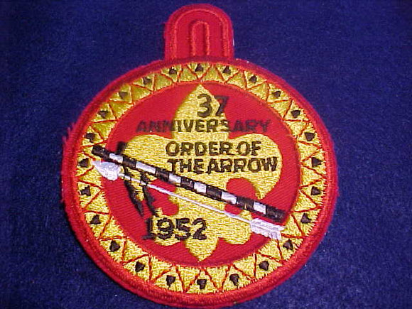 1952 NOAC PATCH, REPRODUCTION, MADE BY BSA