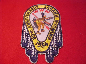 1954 NOAC PATCH, REPRODUCTION, MADE BY BSA