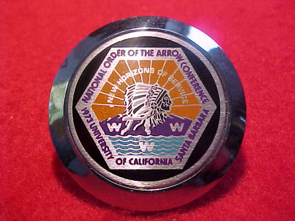 1973 NOAC NECKERCHIEF SLIDE