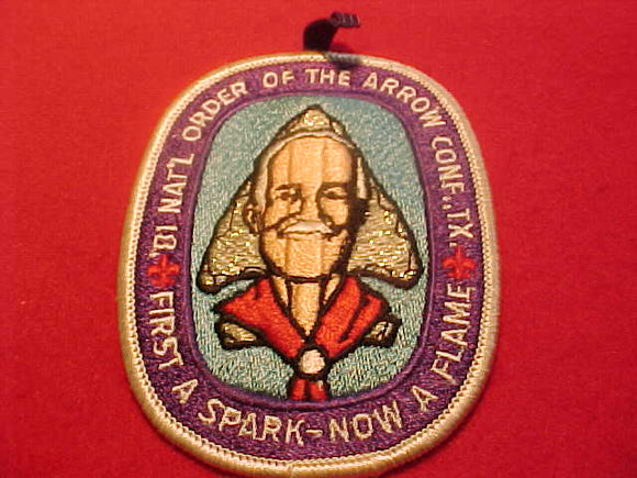 1981 NOAC PATCH, W/ BUTTON LOOP