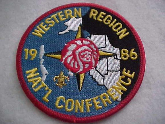 1986 NOAC PATCH, WESTERN REGION