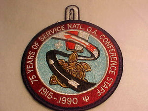 1990 NOAC PATCH, STAFF