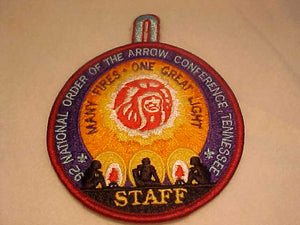 1992 NOAC PATCH, STAFF