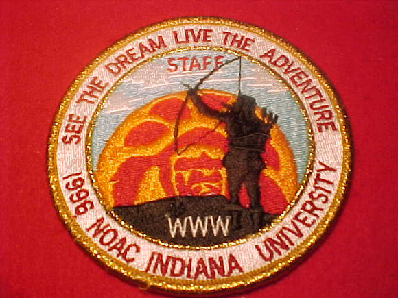 1996 NOAC PATCH, STAFF