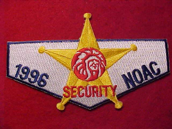 1996 NOAC PATCH, SECURITY STAFF