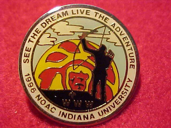 1996 NOAC PIN, STAFF, INDIANA UNIV.