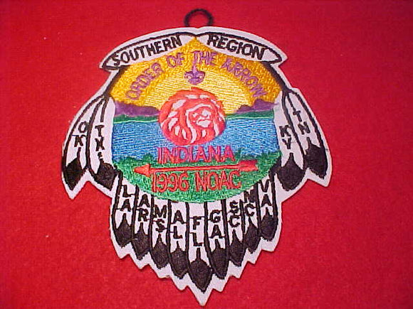 1996 NOAC PATCH, SOUTHERN REGION