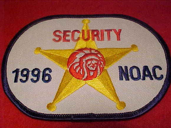 1996 NOAC PATCH, SECURITY