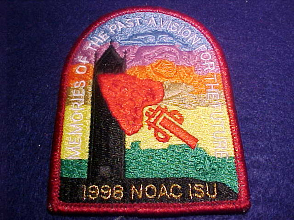 1998 NOAC PATCH, NO BUTTON LOOP, ISU