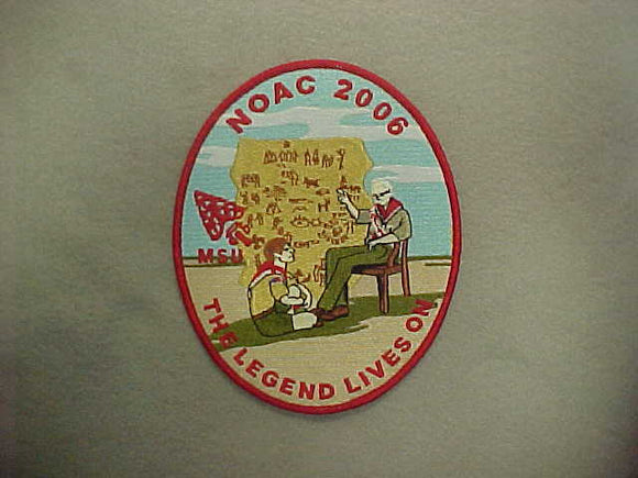 2006 NOAC JACKET PATCH