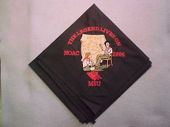 2006 NOAC NECKERCHIEF. RARE,LIMITED ISSUE SOLD OUT BEFORE NOAC STARTED