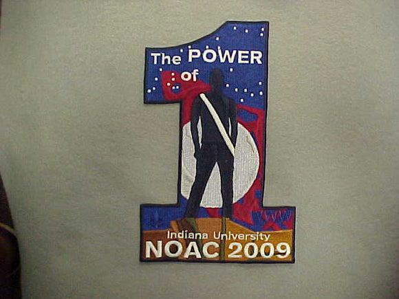 2009 NOAC JACKET PATCH
