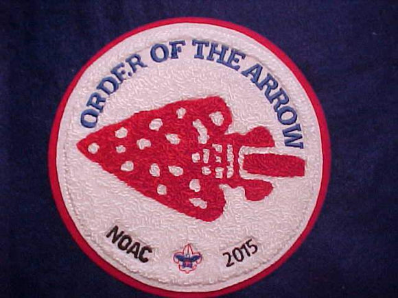 2015 NOAC JACKET PATCH, CHENILLE