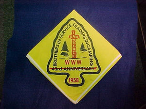 1958 NOAC NECKERCHIEF