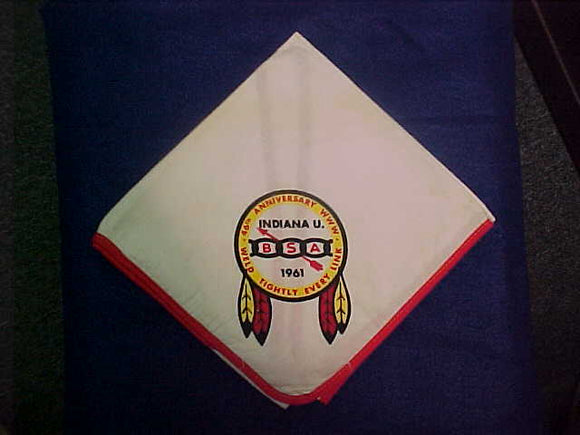 1961 NOAC NECKERCHIEF, USED