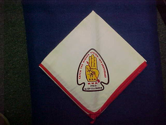 1963 NOAC NECKERCHIEF