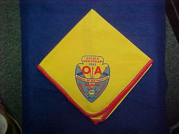 1965 NOAC NECKERCHIEF