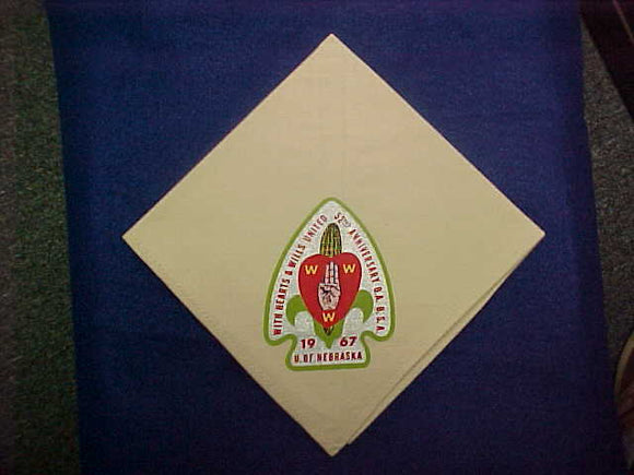 1967 NOAC NECKERCHIEF