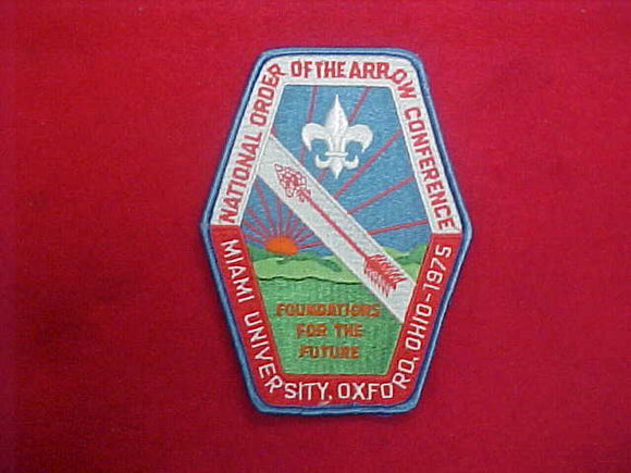 1975 NOAC JACKET PATCH