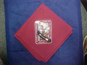 1990 NOAC NECKERCHIEF, SILKSCREENED