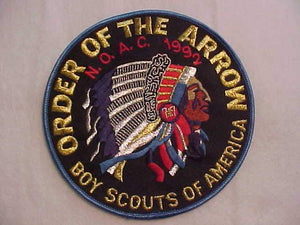 1992 NOAC JACKET PATCH